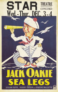 "Movie Posters:Comedy, Sea Legs (Paramount, 1930). Window Card (14"" X 22""). He was bornLewis Delaney Offield in Sedalia, Missouri, but grew up in ..."
