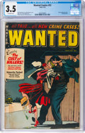 Golden Age (1938-1955):Crime, Wanted Comics #52 (Toytown, 1953) CGC VG- 3.5 Off-white pages....