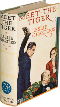 Leslie Charteris. Meet the Tiger. London: Ward, Lock & Co., Limited, 1928. First edition