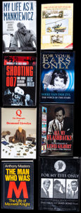 Movie Posters:James Bond, James Bond Biography Book Lot (Various, 1987-2014). Very Fine. Autographed and Numbered British Hardcover Book & Autographed... (Total: 8 Items)