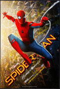 "Movie Posters:Action, Spider-Man: Homecoming (Columbia, 2017). Rolled, Very Fine+. One Sheet (27"" X 40"") DS, Advance. Action.. ..."