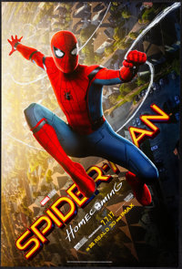 "Spider-Man: Homecoming (Columbia, 2017). Rolled, Very Fine+. One Sheet (27"" X 40"") DS, Advance. Action"
