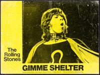 "Gimme Shelter & Other Lot (20th Century Fox, 1970). Overall: Fine/Very Fine. British Lobby Card (10.75"" X 14.25..."