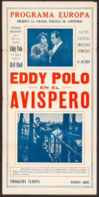 Eddy Polo im Wespennest & Other Lot (Programa Europa, 1928). Folded, Fine/Very Fine. Argentinean Inserts (2) (29...