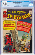 Silver Age (1956-1969):Superhero, The Amazing Spider-Man #18 (Marvel, 1964) CGC FN/VF 7.0 Cr...