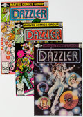 Modern Age (1980-Present):Superhero, Dazzler #1-30 Group (Marvel, 1981-85) Condition: Average NM-.... (Total: 34 Comic Books)