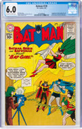 Silver Age (1956-1969):Superhero, Batman #139 (DC, 1961) CGC FN 6.0 Off-white to white pages....