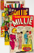 Silver Age (1956-1969):Romance, Millie the Model Group of 17 (Marvel, 1964-67) Condition: AverageVG.... (Total: 17 Comic Books)