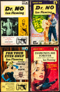 Movie Posters:James Bond, James Bond Book Lot (Pan, 1959-1967). Fine/Very Fine. X Series British Paperback Books (15) & G Series British Paperback Boo... (Total: 21 Items)