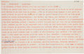 Books:Manuscripts, Jean Dubuffet. Typed and Autograph Letter Signed Twice. . ...