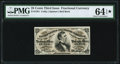 Fractional Currency:Third Issue, Fr. 1291 25¢ Third Issue PMG Choice Uncirculated 64 EPQ★ .. ...