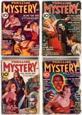 Pulps:Detective, Thrilling Mystery Group of 21 (Standard, 1937-44) Condition: Average GD.... (Total: 21 Comic Books)