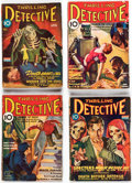 Pulps:Detective, Thrilling Detective Group of 24 (Better Publications, 1934...
