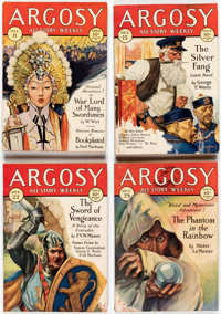 Argosy Weekly Box Lot (Munsey, 1928-32) Condition: Average GD except as noted