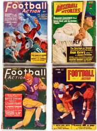 Assorted Sports Pulps Box Lot (Various, 1943-50) Condition: Average GD/VG