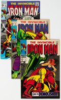 Silver Age (1956-1969):Superhero, Iron Man Group of 19 (Marvel, 1968-70) Condition: Average VF....(Total: 19 )