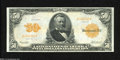 Large Size:Gold Certificates, Fr. 1199 $50 1913 Gold Certificate Very Fine-Extremely Fine....