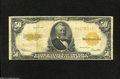Large Size:Gold Certificates, Fr. 1200 $50 1922 Gold Certificate Fine....