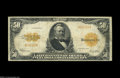 Large Size:Gold Certificates, Fr. 1200a $50 1922 Mule Gold Certificate Fine....
