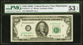 Fr. 2161-C* $100 1950D Federal Reserve Note. PMG About Uncirculated 53 EPQ