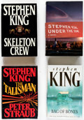 Books:Hardcover, Stephen Hardcover Editions Box Lot (Various, 1980s-2000s).... (Total: 2 Box Lots)