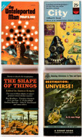 Books:Vintage Paperbacks, Assorted Vintage Sci-Fi/Fantasy Paperbacks Box Lot (Various, 1950s-70s)....