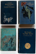 Books:Hardcover, Assorted Early Science Fiction Hardcover Volumes Group of 16 (Various, 1889-1929).... (Total: 16 Items)