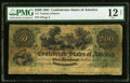 Confederate Notes:1861 Issues, T2 $500 1861 PF-1 Cr. 2 PMG Fine 12 Net.. ...
