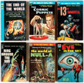 Books:Vintage Paperbacks, Ace Vintage Science Fiction Paperbacks Box Lot (Various, 1950s)....