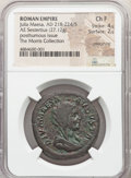 Ancients:Roman Imperial, Ancients: Diva Julia Maesa (AD 218-224/5). AE sestertius (33mm, 27.12 gm, 10h). NGC Choice Fine 4/5 - 2/5, smoothing....