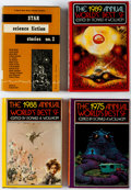 Books:Hardcover, Best of Science Fiction Hardcover Volumes Group of 10 (Various, 1953-2001).... (Total: 10 Items)