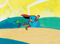 Animation Art:Production Cel, The New Adventures of Superman Production Cel (Filmation, c. 1966-70)....