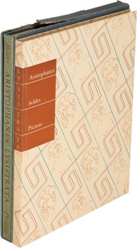 [Pablo Picasso]. [Limited Editions Club]. Aristophanes. Lysistrata. A New Version
