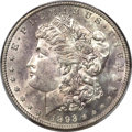 Morgan Dollars, 1893-S $1 MS61 PCGS....
