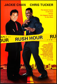 "Rush Hour & Other Lot (New Line, 1998). Rolled, Very Fine+. One Sheets (3) (27"" X 40"") DS. Action. ... (To..."