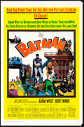 "Movie Posters:Action, Batman (20th Century Fox, 1966). Folded, Very Fine-. One Sheet (27"" X 41""). Action.. ..."