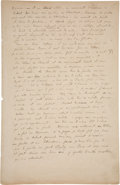 "Books:Manuscripts, Paul Gauguin. Autograph Manuscript. ""On Ugliness:..."". ..."