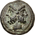Ancients:Roman Republic, Ancients: Anonymous. Ca. 225-217 BC. AE aes grave as (61mm, 247.12 gm, 12h). Choice VF....
