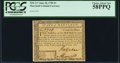 Colonial Notes:Maryland, Maryland June 28, 1780 $3 PCGS Choice About New 58PPQ.. ...