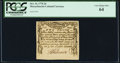 Colonial Notes:Massachusetts, Massachusetts October 16, 1778 2d PCGS Very Choice New 64.. ...