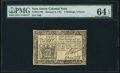 Colonial Notes:New Jersey, New Jersey January 9, 1781 3s 9d PMG Choice Uncirculated 64 EPQ.. ...