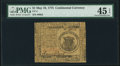 Continental Currency May 10, 1775 $1 PMG Choice Extremely Fine 45 EPQ