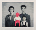 Prints & Multiples:Contemporary, Zhang Xiaogang (b. 1958). Big Family, 2006. Lithograph in colors on wove paper. 30-1/2 x 36-3/4 inches (77.5 x 93.3 cm) ...