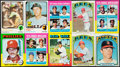 Baseball Cards:Lots, 1972-85 Topps Baseball Collection (28) With Stars. ...