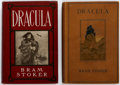 Books:Hardcover, Bram Stoker Dracula Early American Hardcover Editions Group of 2 (Doubleday, Page & Co., 1902-04).... (Total: 2 Items)