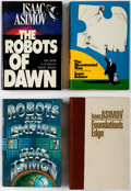 Books:Hardcover, Isaac Asimov Hardcover Editions Group of 9 (Various, 1970s-90s).... (Total: 9 Items)