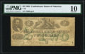 Confederate Notes:1862 Issues, T43 $2 1862 PF-3 Cr. 336 PMG Very Good 10.. ...