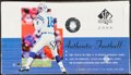 Football Cards:Boxes & Cases, 2000 Upper Deck SP Authentic Football Unopened Hobby Box - Tom Brady Rookie Year! ...