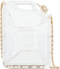 "Luxury Accessories:Bags, Chanel Plexiglass ""Dubai by Night"" Jerrycan Bag. Condition: 2. 5"" Width x 7"" Height x 2"" Depth. ..."