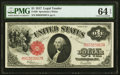 Large Size:Legal Tender Notes, Fr. 39 $1 1917 Legal Tender PMG Choice Uncirculated 64 EPQ.. ...